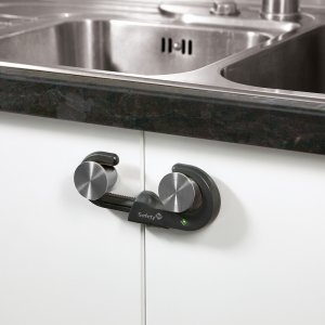 Safety 1st Устройство за заключване на шкаф 1 бр.оп. сив цвят